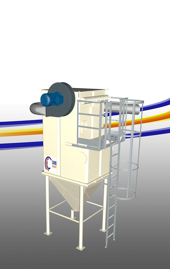 Depolveratori industriali per grandi impianti - Grandi impianti lavatrici ...
