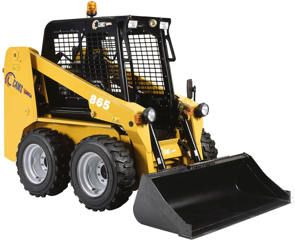 (Italiano) Skid Loader 865 con pneumatici o cingoli in gomma - CAMS GROUP